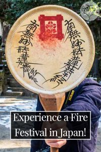 Experience a Fire Festival in Japan!
