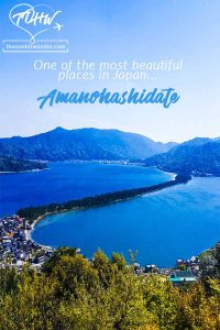 One of the three most beautiful places in Japan - Amanohashidate