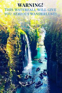 The Most Beautiful Waterfall in Japan!