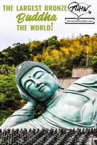 The largest bronze Buddha in the world!