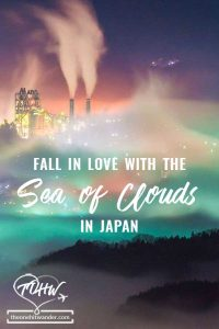 Fall in love with the Sea of Clouds in Japan