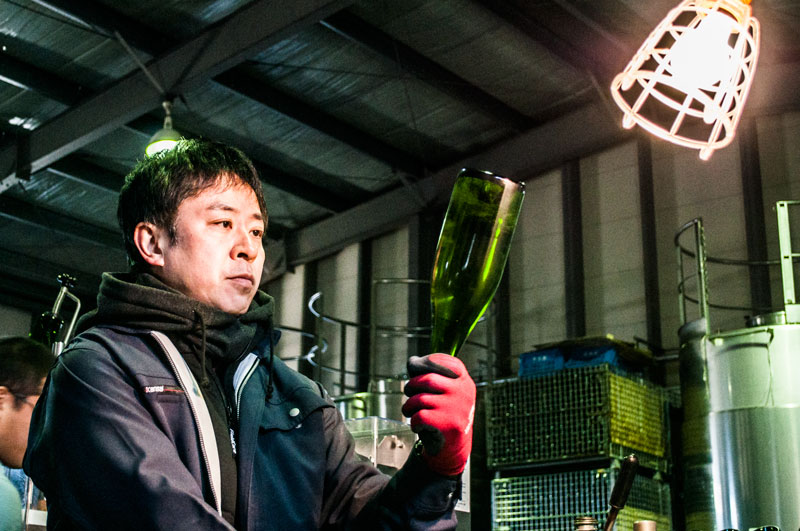Bottling wine in Japan, Lumiere Winery