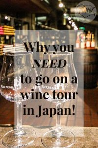 Why you need to go on a wine tour in Japan!